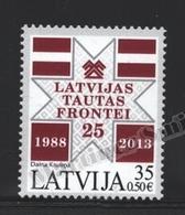 Lettonie – Latvia – Letonia 2013 Yvert 849, 25th Ann. Latvian Popular Front - MNH - Lettonie