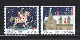 Lettonie – Latvia – Letonia 2013 Yvert 855-56, Christmas - MNH - Lettonie