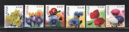 Lettonie – Latvia – Letonia 2014 Yvert 857-62, Definitive Set, Flora, Flowers - MNH - Lettonie