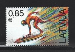 Lettonie – Latvia – Letonia 2014 Yvert 866, Spots, Skeleton - MNH - Lettonie