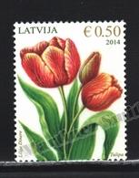 Lettonie – Latvia – Letonia 2014 Yvert 873, Flora, Flowers - MNH - Lettonie