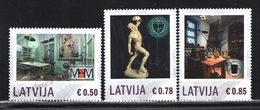 Lettonie – Latvia – Letonia 2014 Yvert 868-72, Personalized Stamps, Medicine & History Museums - MNH - Lettonie