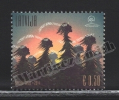 Lettonie – Latvia – Letonia 2014 Yvert 899, The Songs Of The Trees - MNH - Lettonie