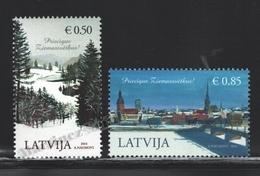 Lettonie – Latvia – Letonia 2014 Yvert 897-98, Christmas - MNH - Lettonie