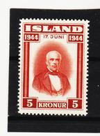 POL1811 ISLAND 1944  Michl 236 Postfrisch SIEHE ABBILDUNG - 1944-... Republik