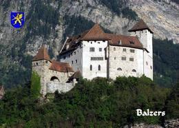 Liechtenstein Balzers Gutenberg Castle New Postcard - Liechtenstein