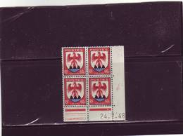 N°758 - 60c Blason De NICE - D De C+D - 4° Tirage Du 22.7.48 Au 26.7.48 - 24.7.1948 - - 1940-1949