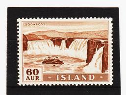 POL1813 ISLAND 1956  Michl 305 Postfrisch SIEHE ABBILDUNG - 1944-... Republik