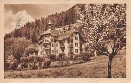 """M08158 """"COLLE ISARCO M. 1100-HOTEL PENSIONE GUDRUN"""" CART. POST. ORIG. SPED 1936. - Bolzano (Bozen)"""
