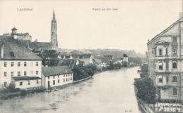 R011167 Landshut. Partie An Der Jsar. Reinicke And Rubin - Ansichtskarten