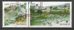 Monaco 1999 Mi.Nr. 2454 / 2455 , EUROPA CEPT Natur- Und Nationalparks - Gestempelt / Fine Used / (o) - 1999
