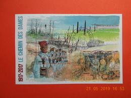 FRANCE 2017 YTN°5138  FEUILLET   CENTENAIRE DU CHEMIN DES DAMES   Timbre Neuf Oblitéré Cachet Rond - Used Stamps