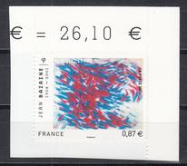 Jean Bazaine, Plongée,  AUTO ADHESIF N° 550,  2011  Neuf **   Grande Marge - France