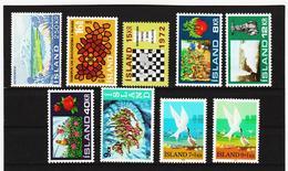 POL1817 ISLAND 1972  Michl 460 + 463/70 Postfrisch SIEHE ABBILDUNG - 1944-... Republik