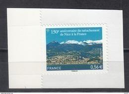 Rattachement De Nice à La France, AUTO ADHESIF N° 469 ,  2010  Neuf **   Grande Marge - Adhésifs (autocollants)