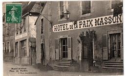 MONTEL LE GELAT HOTEL DE LA PAIX MASSON PHARMACIE CAFE PLACE DU PAVILLON - Autres Communes