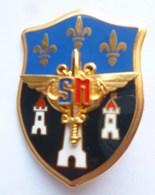INSIGNE SN CENTRE DU SERVICE NATIONAL DE TOURS - LR PARIS G 4786 - Armée De Terre