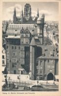 R011370 Danzig. St. Marien Sternwarte Und Frauentor - Cartes Postales