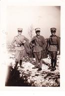 (BI) FOTO  UFFICIALI   1^  G.M.     9,0 X  6,5 - Guerra, Militari