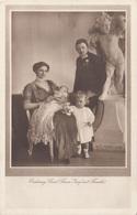 ERZHERZOG CARL FRANZ JOSEF Mit Familie, Verlag Brüder Kohn Wien I - Königshäuser