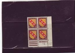 N°757 - 50c Blason De LA LORRAINE -B De A+B - 5° Tirage Du 3.1.47 Au 23.1.47 - 06.01.1947 - - 1940-1949