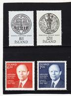 POL1820 ISLAND 1983  Michl 606/07 + 610/07 Postfrisch SIEHE ABBILDUNG - 1944-... Republik