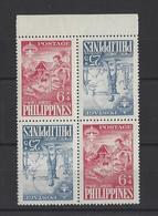 PHILIPPINES.  YT  N° 479/480  Neuf **  1959 - Philippines