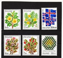 POL1822 ISLAND 1984  Michl 612/13 + 617 + 619/21 Postfrisch SIEHE ABBILDUNG - Ungebraucht