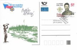 32767. Entero Postal PRAHA (Republica Checa) 2002- SVOJSIK, Scout, 90 Aniversario Scouyt Checo - Ganzsachen
