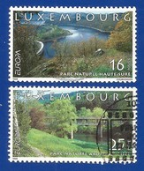 Luxembourg 1999 Mi.Nr. 1472 / 1473 , EUROPA CEPT Natur- Und Nationalparks - Gestempelt / Fine Used / (o) - 1999