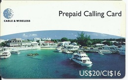 CAYMAN ISLANDS - GEORGE TOWN HARBOUR - CAY27 - Kaimaninseln (Cayman I.)