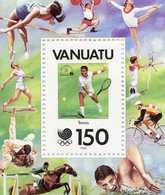 Neuf - JO D'été à Séoul -Joueur De Tennis - Bloc - Neuf - Vanuatu (1980-...)