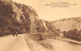 Environs D'Aywaille - La Route De Comblain Près De La Belle Roche - Aywaille