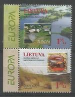 Litauen / Lietuva 1999 Mi.Nr. 693 / 694 , EUROPA CEPT - Natur-und Nationalparks - Postfrisch / MNH / (**) - 1999