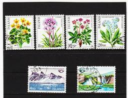 POL1821 ISLAND 1983  Michl 592/97 Gestempelt SIEHE ABBILDUNG - 1944-... Republik