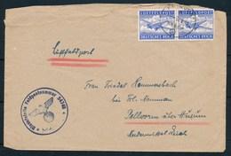DEUTSCHES REICH - Luftfeldpost Dd 30-08-43 (ref. 1614) - Poste Aérienne
