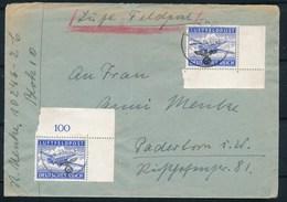 DEUTSCHES REICH - Luftfeldpost Dd 14-12-43 Nach Paderborn (ref. 1615) - Poste Aérienne