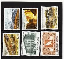 POL1824 ISLAND 1986  Michl 648/53 Gestempelt SIEHE ABBILDUNG - 1944-... Republik