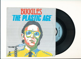"BUGGLES "" THE PLASTIC AGE "" Disque ISLAND 1980  TRES BON ETAT - Rock"