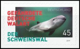 BRD MiNr. 3437 ** Der Schweinswal, Selbstklebend, Aus Marken-Set, Postfrisch - Unused Stamps