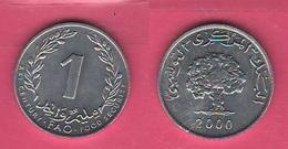 1 Millim 2000 FAO Tunisia Tunisie - Tunisia