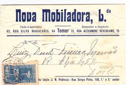 Portugal- Circulou DeTomar Para Porto Em 1938 - Portugal