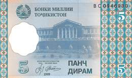 5 Diram Tadschikistan 1999 - Other - Europe