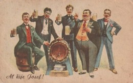 ***  Brasseurs   Al Zije Joseph Biere - Boisson -- Brasserie - -- Un Peu Sale - Métiers