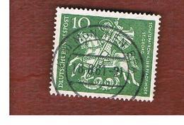 GERMANIA (GERMANY) - SG 1260 - 1961 ST. GEORGE, BOY SCOUTS' S PATRON SAINT  - USED° - [7] République Fédérale