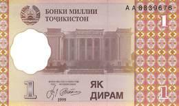 1 Diram Tadschikistan 1999 - Other - Europe