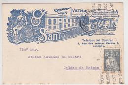 Portugal- Circulou De Lisboa -Caldas Da Rainha -1926 - Otros