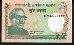 BANGLADESH P52d 2 TAKA 2015 Date = 2015 UNC. - Bangladesh
