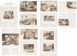 LA BISCUITERIE Et La PATISSERIE MECANIQUES ( USINES BELIN Et OLIBET à SURESNES  )  1923 - Sciences & Technique