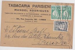 Portugal- Circulou De Lisboa -Paris -1930 - Portugal